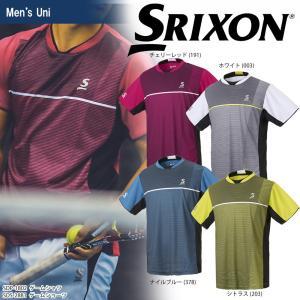 スリクソン SRIXON テニスウェア ユニセックス ゲームシャツ SDP-1802 2018SS 2月下旬発売予定※予約 sportsjapan