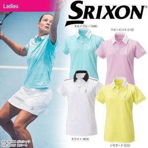 スリクソン SRIXON テニスウェア レディース ポロシャツ SDP-1829W 2018SS 2月下旬発売予定※予約 sportsjapan