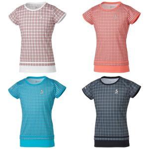スリクソン SRIXON テニスウェア ジュニア ゲームシャツ SDP-1962WJ 2019FW [ポスト投函便対応]|sportsjapan