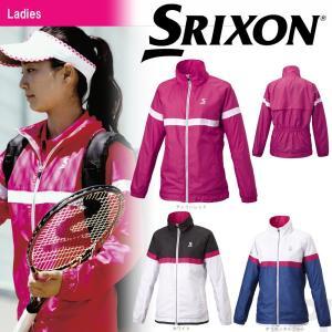 「2017新製品」SRIXON スリクソン 「WOMEN'S レディース CLUB LINE ウィンドジャケット SDW-4761W」テニスウェア「2017FW」|sportsjapan