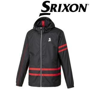 「ランドリーバッグ2枚プレゼント」スリクソン SRIXON テニスウェア ユニセックス ウィンドジャケット SDW-4843 SDW-4843 2018FW|sportsjapan