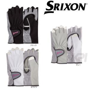 「2017新製品」SRIXON スリクソン 「レディース グローブ ハーフタイプ 両手セット SGG-0710」|sportsjapan