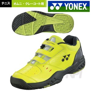 YONEX ヨネックス 「パワークッション ジュニア 18 POWER CUSHION JUNIOR 18 SHT-JR18」オムニ・クレーコート用テニスシューズ『即日出荷』|sportsjapan