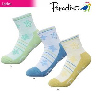 パラディーゾ PARADISO テニスウェア レディース ソックス SOCL87 2018SS sportsjapan