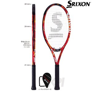 「ガット張り上げ済」SRIXON(スリクソン)「REVO CX 255(レヴォ CX 255) SR21508」ジュニアテニスラケットKPI+|sportsjapan
