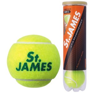 DUNLOP ダンロップ 「St.JAMES セントジェームス  1缶/4球 」テニスボール|sportsjapan