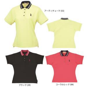 テニスウェア レディース ゴーセン GOSEN ゲームシャツ T1307 SS sportsjapan