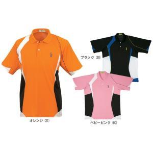 テニスウェア ユニセックス ゴーセン GOSEN ゲームシャツ T1310 FW|sportsjapan