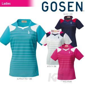テニスウェア レディース ゴーセン GOSEN LaDIES' ゲームシャツ T1511 SS sportsjapan