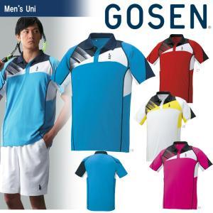 テニスウェア ユニセックス ゴーセン GOSEN ゲームシャツ T1602 2016SS 2017モデル|sportsjapan