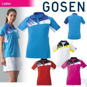 「2017モデル」GOSEN(ゴーセン)「レディースゲームシャツ T1603」テニスウェア「2016SS」KPI+|sportsjapan