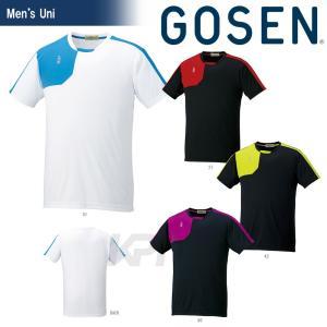 「2017モデル」GOSEN(ゴーセン)「UNI ゲームシャツ T1610」テニスウェア「2016SS」KPI+|sportsjapan