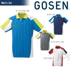 テニスウェア ユニセックス ゴーセン GOSEN ゲームシャツ T1614 2016FW 2017モデル sportsjapan