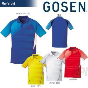 GOSEN ゴーセン 「UNI ゲームシャツ T1700」テニスウェア「2017SS」|sportsjapan
