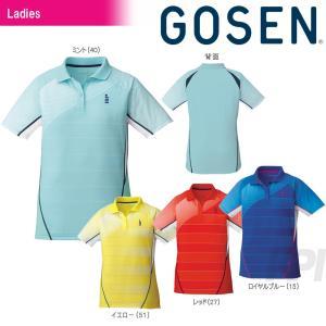 「2017新製品」GOSEN ゴーセン 「レディース ゲームシャツ T1701」テニスウェア「2017SS」|sportsjapan