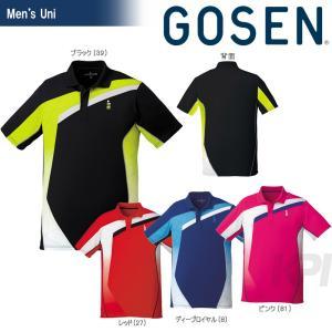 GOSEN ゴーセン 「UNI ゲームシャツ T1702」テニスウェア「2017SS」|sportsjapan