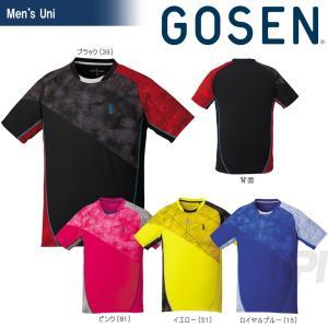 「2017新製品」GOSEN ゴーセン 「UNI ゲームシャツ T1706」テニスウェア「2017SS」|sportsjapan