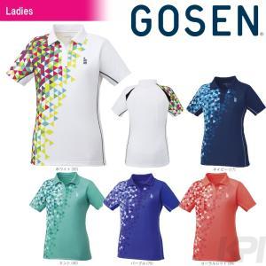 「2017新製品」GOSEN ゴーセン 「レディース ゲームシャツ T1713」テニスウェア「2017FW」|sportsjapan