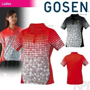 GOSEN ゴーセン 「レディース ゲームシャツ T1715」テニスウェア「2017FW」 sportsjapan