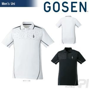 テニスウェア ユニセックス ゴーセン GOSEN ゲームシャツ T1720 2017FW 2017新製品|sportsjapan
