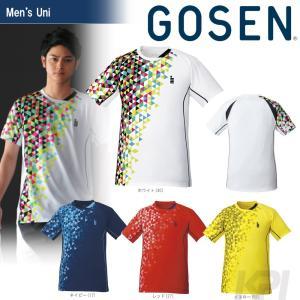 「2017新製品」GOSEN ゴーセン 「UNI   ゲームシャツ T1722」テニスウェア「2017FW」|sportsjapan