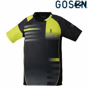 ゴーセン GOSEN テニスウェア ユニセックス ゲームシャツ T1820 2018FW 7月初旬発売予定※予約|sportsjapan