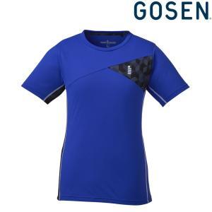 ゴーセン GOSEN テニスウェア レディース ゲームシャツ T1821 2018FW|sportsjapan