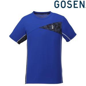 ゴーセン GOSEN テニスウェア ユニセックス ゲームシャツ T1826 2018FW|sportsjapan
