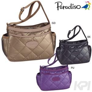 PARADISO(パラディーゾ)「キルトシリーズ ショルダーバッグ TAA572」テニスバッグKPI+|sportsjapan