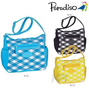 PARADISO(パラディーゾ)「SSチェック ショルダーバッグ TAA613」テニスバッグKPI+|sportsjapan