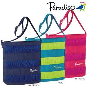 「2017新製品」PARADISO(パラディーゾ)「メッシュシリーズ ショルダーバッグ TAA711」テニスバッグ KPI+|sportsjapan