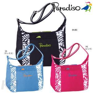 「2017新製品」PARADISO(パラディーゾ)「フラワーシリーズ ショルダーバッグ TAA742」テニスバッグ KPI+|sportsjapan