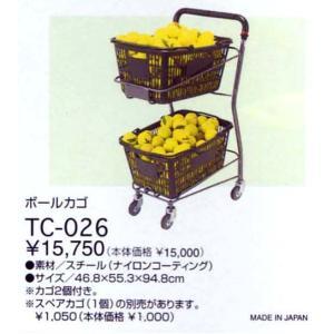 「ボールカゴ(バスケットのみ1個)」TC-026KKPI+|sportsjapan