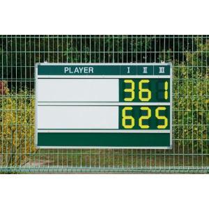 [送料お見積り]DUNLOP ダンロップ 「TC-514」マグネットデジタルチップスコアボード sportsjapan