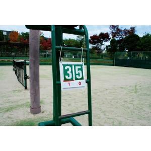 DUNLOP(ダンロップ)「TC-515S」スコア札1台分1セット(2組)※TC-515用KPI+|sportsjapan