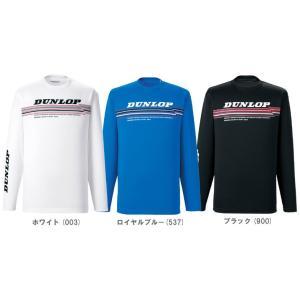 「2013秋冬新製品」DUNLOP(ダンロップ)「Unisex ロングスリーブTシャツ TDL-8341」テニスウェア「2013FW」|sportsjapan