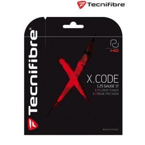 テクニファイバー Tecnifibre テニスガット・ストリング  X.CODE 1.25 TFGP19 『即日出荷』 sportsjapan