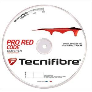 『即日出荷』 「新パッケージ」Tecnifibre テクニファイバー 「PRO REDCODE プロ レッドコード  200mロール TFR501」硬式テニスストリング ガット KPI+|sportsjapan