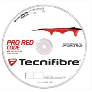 『即日出荷』 「新パッケージ」Tecnifibre テクニファイバー 「PRO REDCODE プロ レッドコード  200mロール TFR502」硬式テニスストリング ガット KPI+|sportsjapan