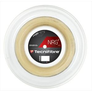 『即日出荷』「新パッケージ」Tecnifibre テクニファイバー 「NRG2 エヌアールジースクエア  200mロール TFR904」硬式テニスストリング ガット|sportsjapan