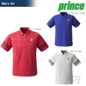 「2017新製品」Prince プリンス 「Uni ゲームシャツ TMU155T」テニスウェア「2017SS」|sportsjapan