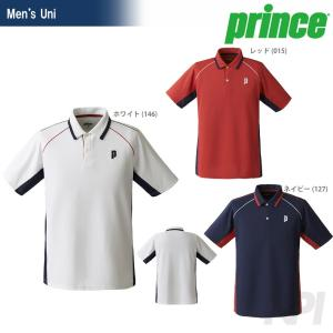 テニスウェア ユニセックス プリンス Prince ゲームシャツ TMU156T SS 2017新製品|sportsjapan