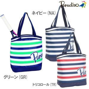 パラディーゾ PARADISO テニスバッグ・ケース  ボーダーマリン トート TRA831|sportsjapan