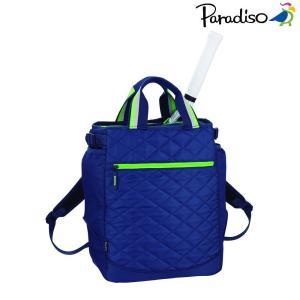 パラディーゾ PARADISO テニスバッグ・ケース  18AWキルトリュックトート TRA862|sportsjapan