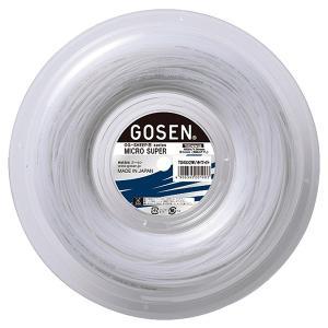 「ロールバッグキャンペーン」GOSEN ゴーセン 「オージーシープミクロスーパー16 240mロール」ts4002硬式テニスストリング ガット|sportsjapan
