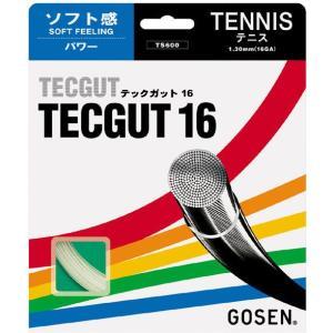 「即日出荷」【■5張セット】GOSEN(ゴーセン)【テックガット16】ts600硬式テニスストリング(ガット)|sportsjapan