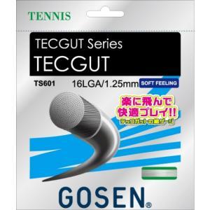 GOSEN(ゴーセン)「テックガット 16L」TS601 硬式テニスガット(ストリングス)KPI+ sportsjapan
