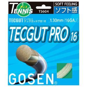 「■5張セット」「新パッケージ」GOSEN(ゴーセン)「テックガットプロ16」ts604硬式テニスストリング(ガット)KPI+ sportsjapan