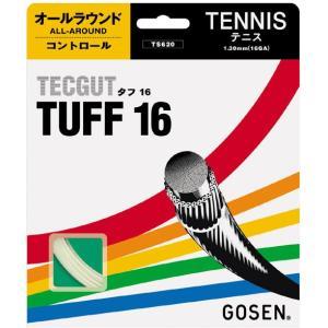 GOSEN ゴーセン 「テックガットタフ16」ts620硬式テニスストリング ガット|sportsjapan