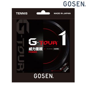 「2017モデル」GOSEN ゴーセン 「G-TOUR1 ジーツアー1 16GA TSGT10」 硬式テニスストリング ガット 「KPI」|sportsjapan